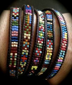 Southwestern Wrap Bracelets - Bead&Button Show