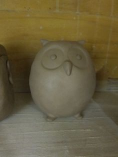 Double pinch pot owl