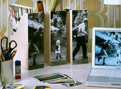 Bastelanleitung: Zeitschriften-Box mit Foto-Triptychon - Wohnen & Garten