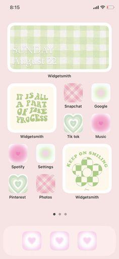 Danish pastel iOS inspo ✿