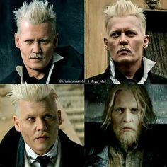 Johnny Depp Characters, Johnny Depp Movies, Gellert Grindelwald, Crimes Of Grindelwald, Fantastic Beasts Movie, Fantastic Beasts And Where, Harry Potter Films, Harry Potter Universal, Boy Music