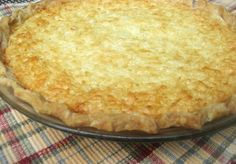 This is my husband's favorite pie. It is so simple and so good.