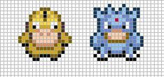 sandylandya@outlook.es  Mini: Psyduck, Golduck by Hama-Girl