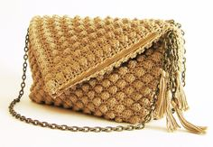 Looking for your next project? You're going to love Crochet pattern for bobble stitch bag by designer maisabel2.