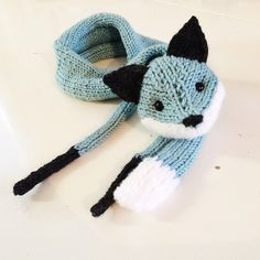 Knitting Project- Mr. Fox | Kitty Baby Love