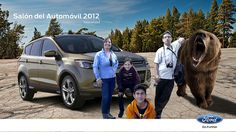 Social Kinect, Pabellón #GoFurther, Salón del Automóvil 2012