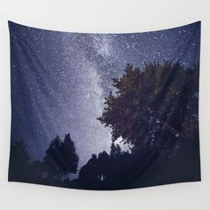 Available in three distinct sizes, our Wall Tapestries are made of 100% lightweight polyester with hand-sewn finished edges. Featuring vivid colors and crisp lines, these highly unique and versatile tapestries are durable enough for both indoor and outdoor use. Machine washable for outdoor enthusiasts, with cold water on gentle cycle using mild detergent - tumble dry with low heat.#milkyway #night #wallart #homedecor #galaxy