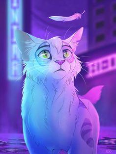 First Sight by RenAstraea on DeviantArt Warrior Cats Series, Warrior Cats Fan Art, Anime Warrior, Warrior Drawing, Warrior Cat Drawings, Cat Oc, Gato Anime, Arte Sketchbook, Cute Animal Drawings