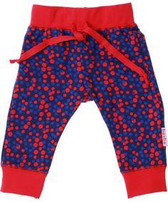 Baba Babywear schattig baby broekje met gekleurde bolletjes. baba-babywear.nl.emilea.be