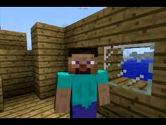 The Story of Jesus Calming the Storm -- Minecraft Version