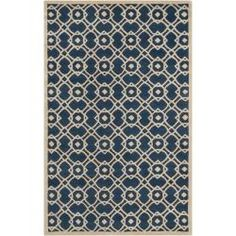 @Overstock - Hand-tufted in New Zealand wool, this rug features colors of blue and parchment. Its unique geometric design will make this rug stand out in any home.http://www.overstock.com/Home-Garden/Hand-tufted-Grandeur-Blue-New-Zealand-Wool-Rug-5-x-8/6765349/product.html?CID=214117 $526.99