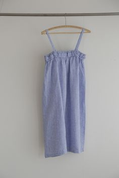e04dbf872a Rita Dress  Cyan – Shop Fog Linen Fog Linen