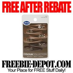 FREE Hair Clips exp 12/15