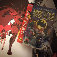 "On instagram by gamingclt #retrogaming #microhobbit (o) http://ift.tt/1mEhOAd a sealed copy of the ""Adventures of Batman & Robin"" on the SEGA Genesis. I got a great deal on the game as I believe I paid less for it now then when it was sold new in 1995. #sega #genesis #AdventuresofBatmanandRobin #segagenesis  #retrocollectivecanada #retrocollective #Batman #gaming #gamer #geek #nerd #darkvictory #retrocollectiveus"
