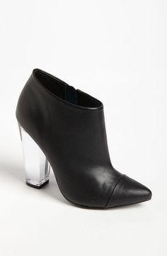 This bootie is a 'clear' winner for fall fashion.