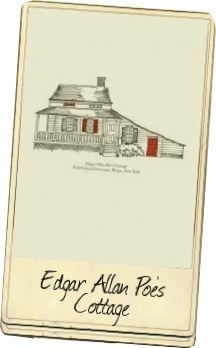 Sketch of Edgar Allan Poe's Cottage