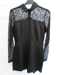 c0affee6cd42 Victoria Lace Sleeve Playsuit size 10 BRAND NEW WITH TAGS BOX82 04 K   fashion  clothing  shoes  accessories  womensclothing  jumpsuitsrompers  (ebay link)