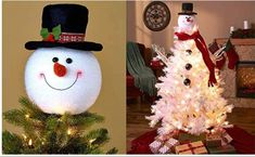 Frosty Snowman Top Hat Christmas Tree Topper Decor Holiday Winter Wonderland Decoration by KNL Store Frosty Snowman Top Hat Christmas Tree Topper Decor Holiday Winter Wonderland Decoration dia. Snowman Christmas Tree Topper, Diy Christmas Tree, Holiday Ornaments, Christmas Bulbs, Snowman Ornaments, Crochet Christmas, White Christmas, Winter Wonderland Decorations, Christmas Wonderland