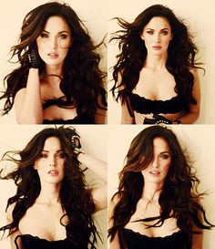 Megan Fox; I wish I could get my hair to look like hers!