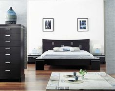 Modern Asian Style Inspired Bedroom Furniture
