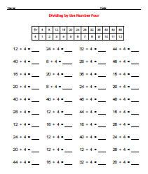 Printable Math Worksheets Division | Printable | Pinterest ...