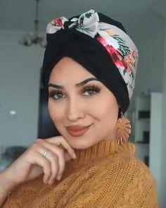 Turban Hijab, Mode Turban, Hair Turban, Turban Tutorial, Hijab Style Tutorial, Hair Wrap Scarf, Hair Scarf Styles, African Hair Wrap, Hight Light