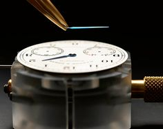 A. Lange & Söhne 1815 Up/Down #watch and exclusive pictures of movement