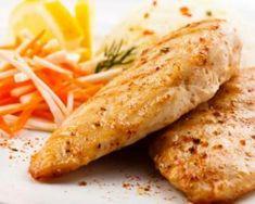 Aiguillettes de poulet au citron panées au son d'avoine Kitchen Recipes, Diet Recipes, Poultry, Easy Meals, Food And Drink, Menu, Gluten, Chicken, Dinner