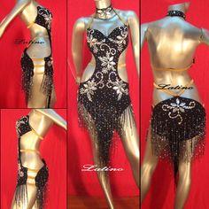 Competition Latin Dance Costume AL14