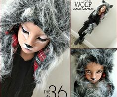 Wolf Costume Tutorial by the36thavenue.com