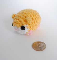 Amigurumi Hamster / Crochet Hamster/ Cute by SyppahsCuteCreations