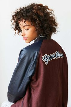 BDG True Winner Patched Varsity Jacket - Urban Outfitters
