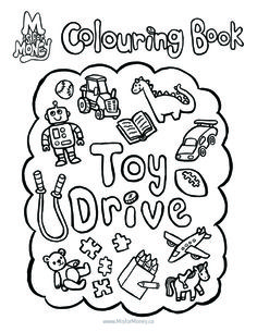 Colouring Page. Visit www.MisforMoney.ca to buy our books and for more free downloads and fun money stuff! #misformoney