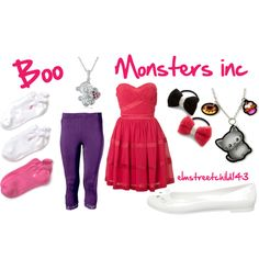 boo from monsters inc more womens fashion halloween costumes boo from ...