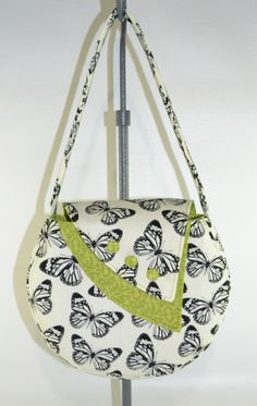 Evelyn Purse in Vintage Butterfly by BellaStyle on Etsy, $36.99