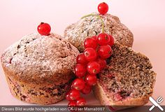 Rhabarber - Mohn - Muffins