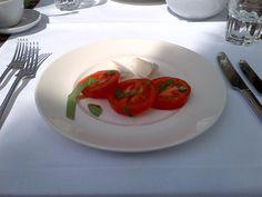 Tomato with mozzarella di bufala @ Restaurant Toscano im Puls 5!