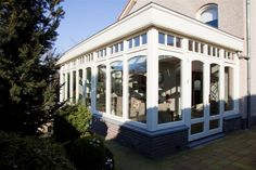 Sunrooms, Conservatory, Porches, Mansions, House Styles, Garden, Pretty, Kitchen, Home Decor