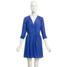 Factory draped pleat-front dress. super cute...should I get it or should I not?! goodness..