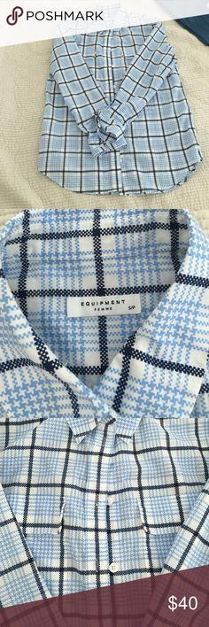 Selling this Equipment button down shirt on Poshmark! My username is: jbnica2009. #shopmycloset #poshmark #fashion #shopping #style #forsale #Equipment #Tops