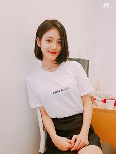 ASK K-POP A female lead has reportedly been chosen for the drama Jinyoung is in talks for! Cute Korean Girl, Asian Girl, Short Bob Hairstyles, Girl Hairstyles, Teen Web, Teen Images, Medium Short Hair, Aesthetic Hair, Korean Celebrities