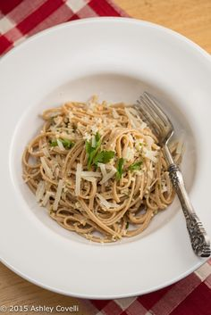 Linguine with Cauliflower Pesto Recipe | Big Flavors from a Tiny Kitchen