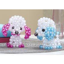 Sunrise Craft & Hobby™ Bubble Bead Poodle Pair Beading Kit - Herrschners