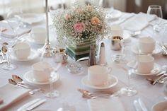 Soft and elegant baby's breath wedding centrepieces #babysbreath #wedding