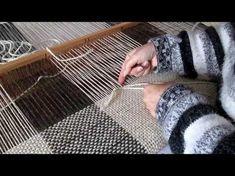 Tapestry Weaving, Loom Weaving, Hand Weaving, Loom Knitting, Yarn Crafts, Basket Weaving, Knit Crochet, Textiles, Fabric