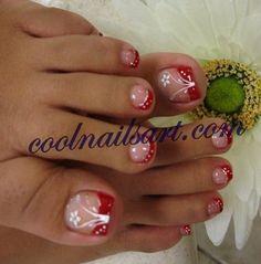 See more about toe nail designs, nail art designs and toe nail art. Pretty Toe Nails, Cute Toe Nails, Fancy Nails, My Nails, Pretty Toes, Beautiful Toes, Fingernail Designs, Toe Nail Designs, Nails Design