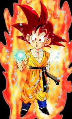 Goten SSJ God, Dragon Ball Super