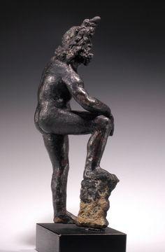 Hellenistic bronze nude Poseidon (Neptune)