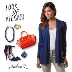 Un look ideal para un viernes de trabajo y el after office. #JonathanZ #Fashion #PuertoRico
