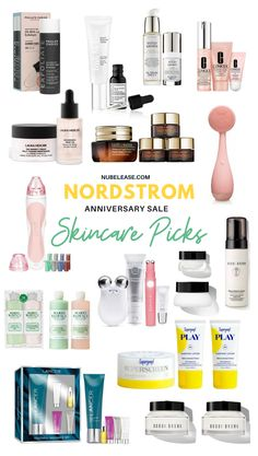 All the details you need about this year's Nordstrom Anniversary Sale! Plus, The best anniversary beauty deals 2020 including Makeup, Skincare, Hair Care, Fragrance, the Grooming picks! #nordstromanniversarysale #nordstromsale #nordstrombeauty Makeup Over 40, Makeup For Teens, High End Makeup, Top Skin Care Products, Best Skincare Products, Acne Makeup, Beauty Makeup, Dark Circles Makeup, Skincare For Oily Skin